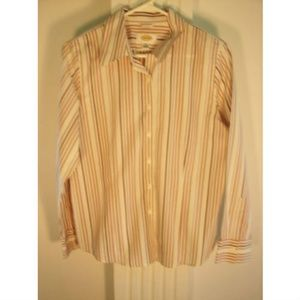 Talbots Petites, 100 Cotton Size 10 Dress Shirt